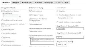 opcje landing page